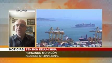 Moragón: EEUU y China lidian una guerra en diferentes frentes