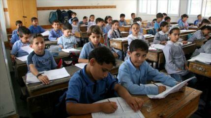 Israel subastará material de escuela palestina, financiada por UE