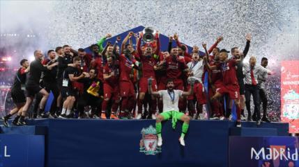 Liverpool vence a Tottenham y conquista su sexta Copa de Europa