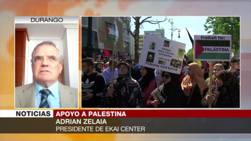 'Marchas del Día de Al-Quds, una respuesta a violaciones israelíes'