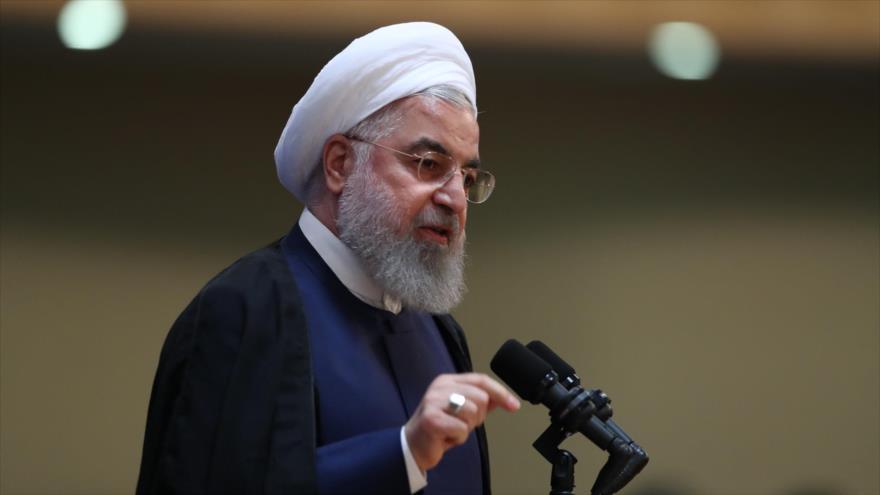 Rohani: Resistencia iraní hizo retroceder a EEUU de sus posturas | HISPANTV