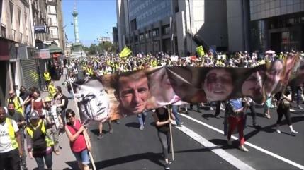 Mutilados por la policía francesa denuncian represión sistemática