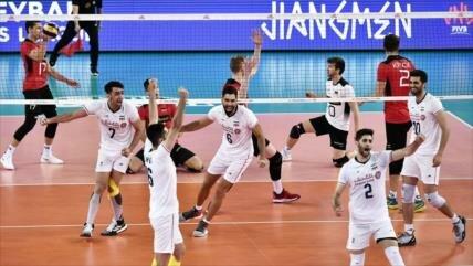 Irán derrota 3-0 a Alemania en Liga de Naciones de Voleibol 2019