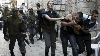 Israel detiene a 50 palestinos en Al-Quds y Cisjordnaia