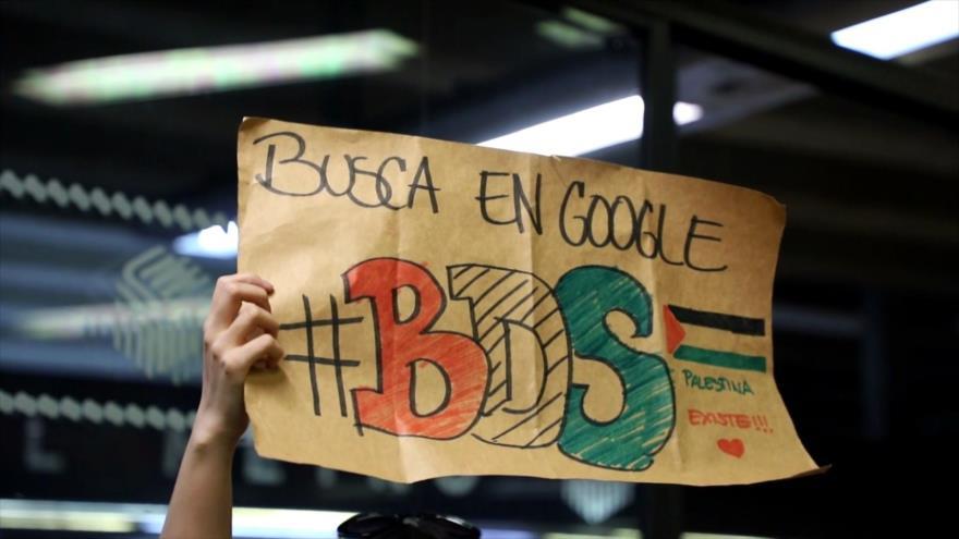 BDS en México realiza concentración para apoyar causa palestina