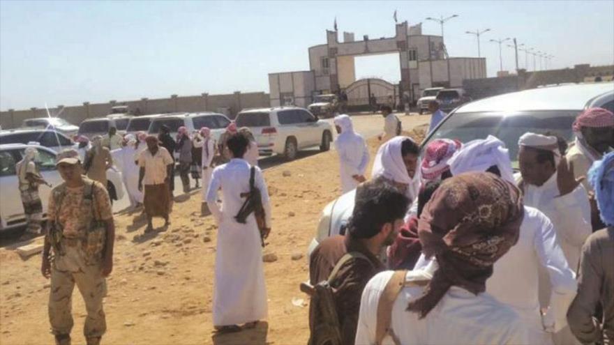 Cruce fronterizo de Sarfayt entre la provincia yemení de Al-Mahrah (sureste) y Omán.
