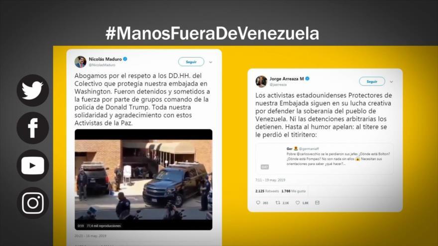Etiquetaje: EEUU, ¡Saca tus manos fuera de Venezuela!