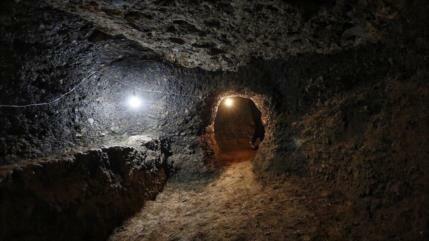 Fotos: Hallan en Irán ciudad subterránea de 800 años de antigüedad