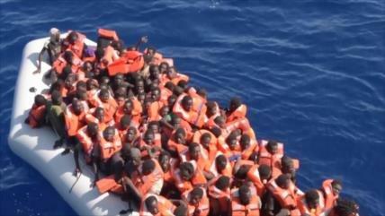 Denuncian ante la CPI políticas migratorias de la Unión Europea