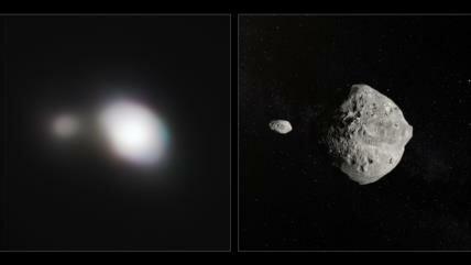 Vídeo: Un telescopio caza un asteroide que pasó cerca de la Tierra