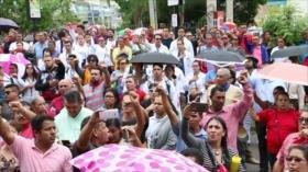 El Gobierno intenta frenar las protestas en Honduras