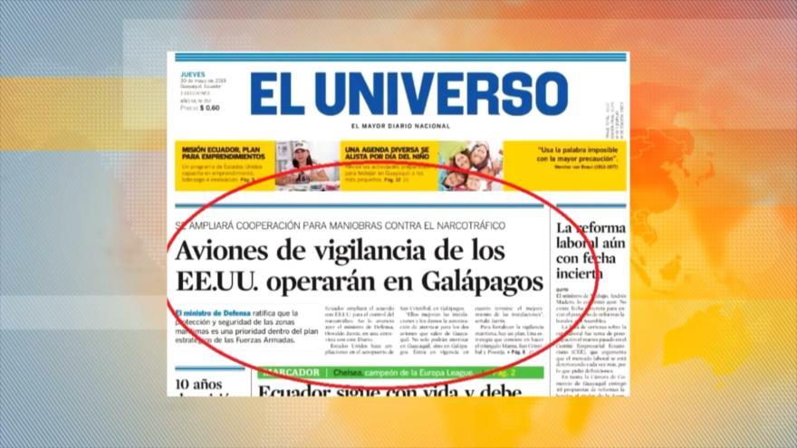 Los aviones de vigilancia de EEUU operarán desde Galápagos
