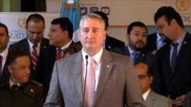 Guatemala firma convenio para llegada de efectivos de EEUU al país