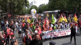 Nueva huelga de la Sociedad Nacional de Ferrocarriles Franceses
