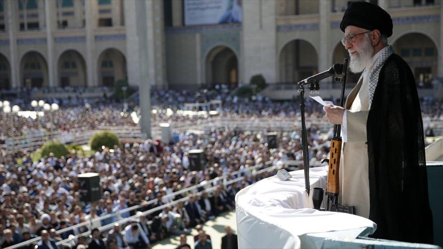 Líder de Irán: 'Acuerdo del siglo' nunca se materializará