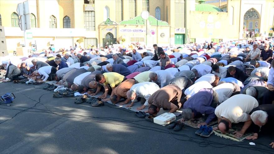 Los iraníes festejan la fiesta que marca el fin de Ramadán