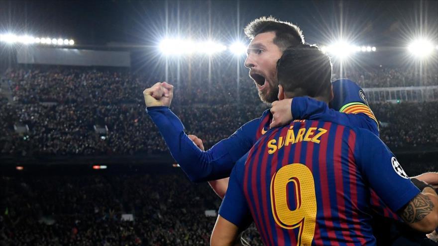 Messi gana votación al mejor gol de la Champions League 2018-19