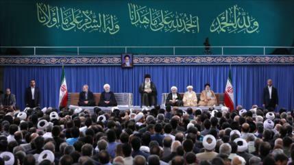 Líder iraní vaticina una pronta victoria definitiva para Palestina