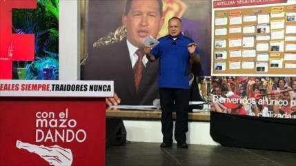 Cabello: Pompeo es incapaz de unificar a la oposición venezolana