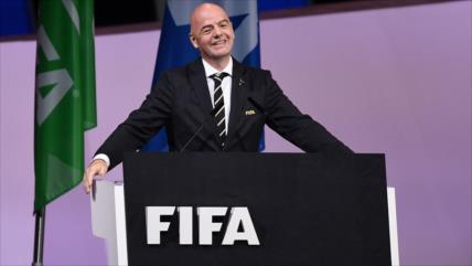 Infantino, reelegido como el presidente de la FIFA