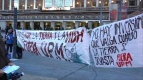 """Uruguayos protestan en el """"Día Mundial del Medio Ambiente"""""""