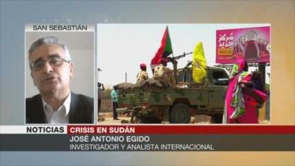 Egido: Arabia Saudí respalda a militares en Sudán contra el pueblo