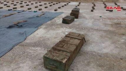 Fotos: Siria halla armas de terroristas en Al-Quneitra y Deir Ezzor