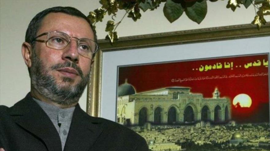 El entonces candidato presidencial palestino y ex profesor de la Universidad de Howard de EE.UU., Abdul Halim al-Ashqar.