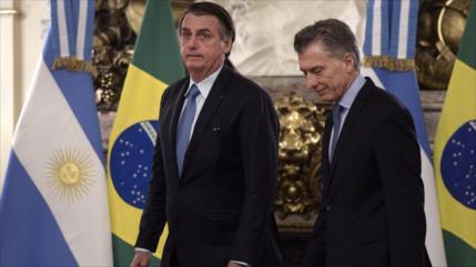 Argentinos a Bolsonaro: Tu odio no es bienvenido aquí