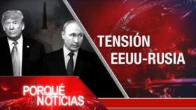 El Porqué de las Noticias: Tensión Rusia-EEUU. Diálogos EEUU-México. Formación de gobierno en España