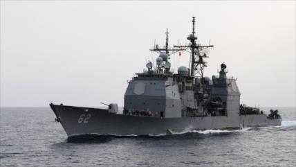 'Buque de EEUU casi se choca contra barco ruso en mar de China'