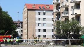 Una fuerte explosión deja al menos 25 heridos en Linköping, Suecia