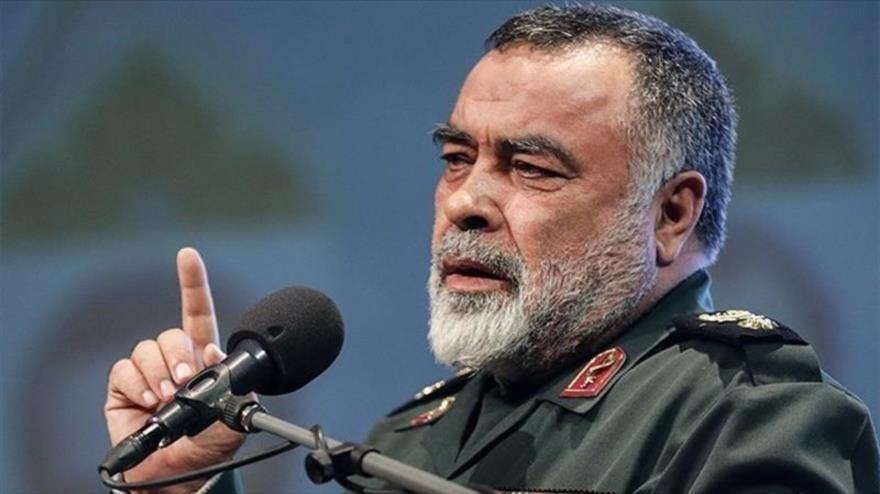 El asesor principal del comandante en jefe del Cuerpo de Guardianes de la Revolución Islámica (CGRI) de Irán, el general Morteza Qorbani.