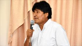 Morales: Política del FMI puede provocar rebelión de los pueblos