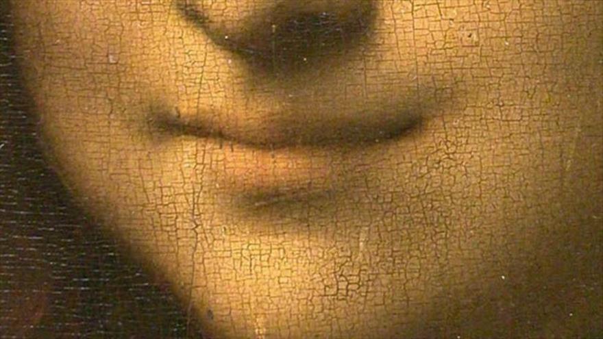 La sonrisa de la Mona Lisa, obra del artista italiano Leonardo da Vinci.