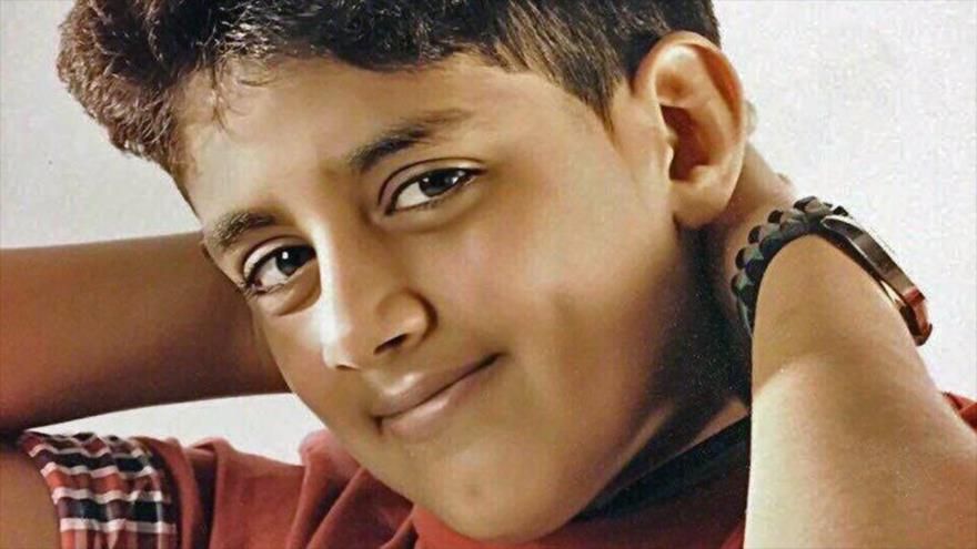 Murtaja Qureiris, el preso político más pequeño en Arabia Saudí. (Foto: CNN)