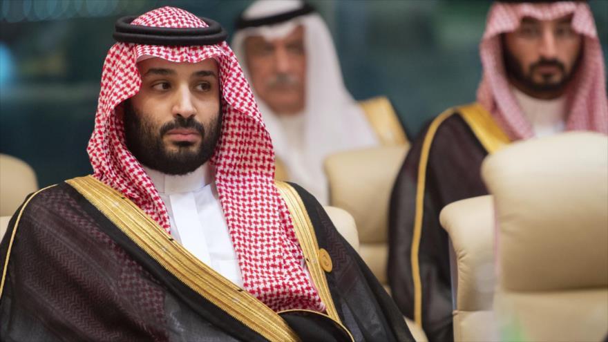 El príncipe heredero saudí, Muhamad bin Salman, en el Palacio Real de Safa en la ciudad sagrada de La Meca, Arabia Saudí, 31 de mayo de 2019. (Foto: AFP)