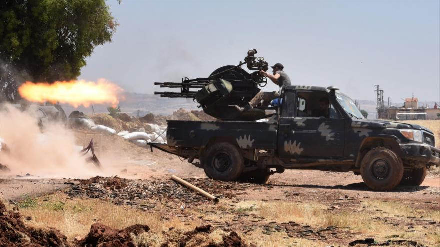 Siria repele ofensiva terrorista en Hama y mata a 120 extremistas