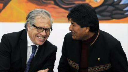 Almagro califica de institucional su posición sobre Morales