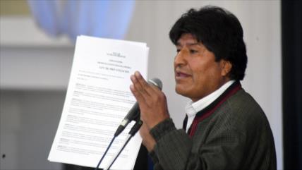 Morales: Ningún pueblo debería vivir sin acceso libre a los océanos