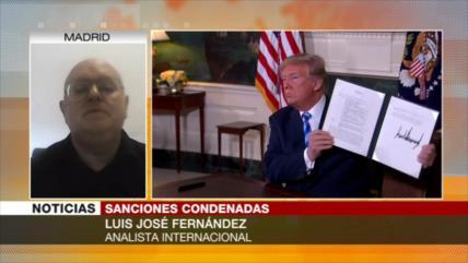 Fernández: Embargos antiraníes de EEUU están condenados al fracaso