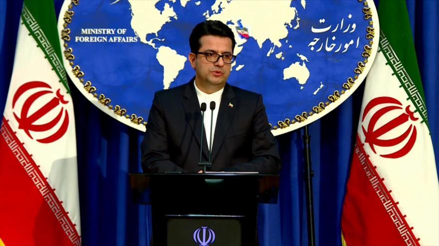 El portavoz de la Cancillería de Irán, Seyed Abás Musavi.
