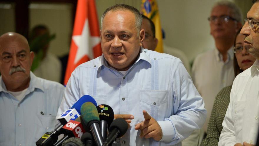 Cabello: Cuba y Venezuela, unidas resistirán a los ataques de EEUU