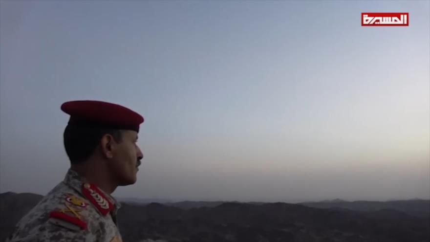 'Ministro de Defensa yemení visita a tropas en el territorio saudí' | HISPANTV