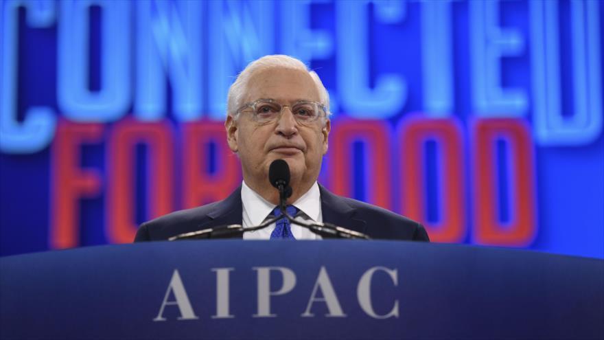 Palestina sopesa demandar ante CPI a Friedman por comentar anexión | HISPANTV