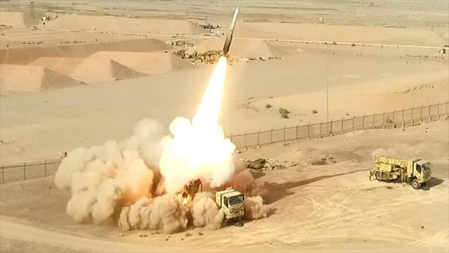 Irán desvela un nuevo sistema de defensa aérea