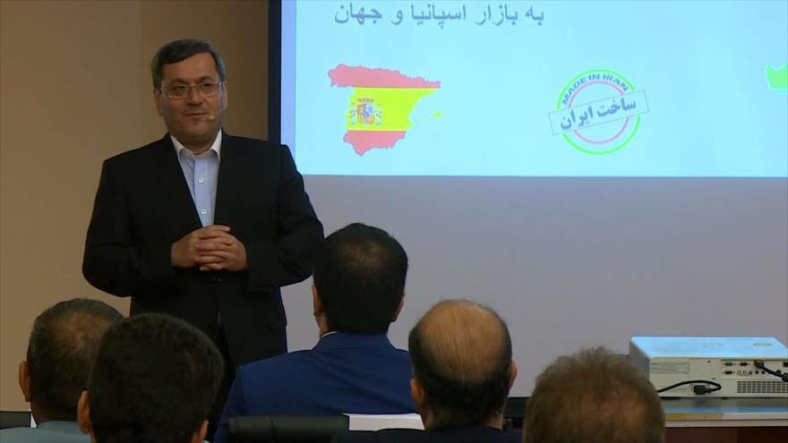 Empresarios iraníes se reúnen para aumentar exportaciones a España