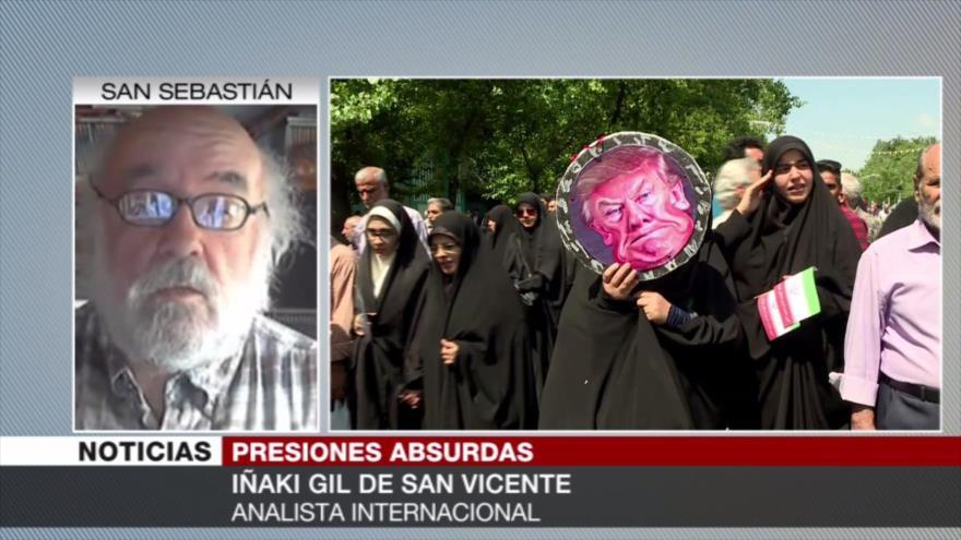 "Iñaki: EEUU evita que se expanda la ""cultura de resistencia"" iraní"