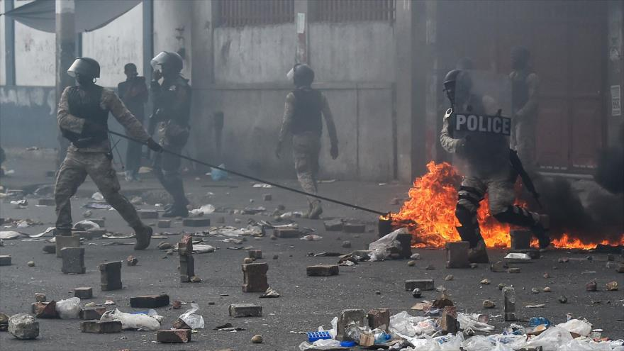 Protestas antigubernamentales en Haití dejan varios muertos