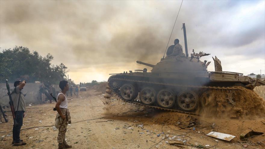 OMS: Enfrentamientos en Trípoli, capital Libia, dejan 650 muertos